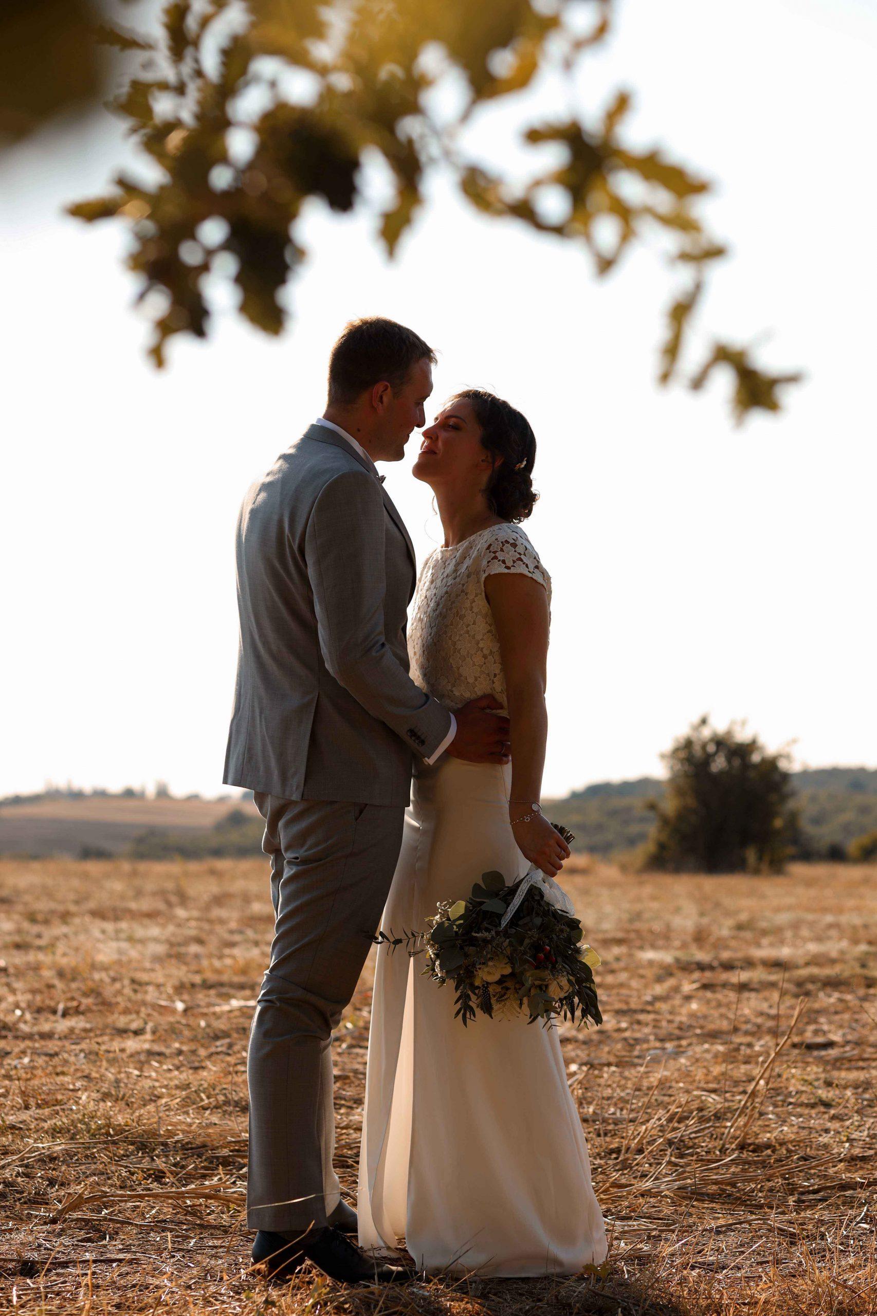 couple mariés photo