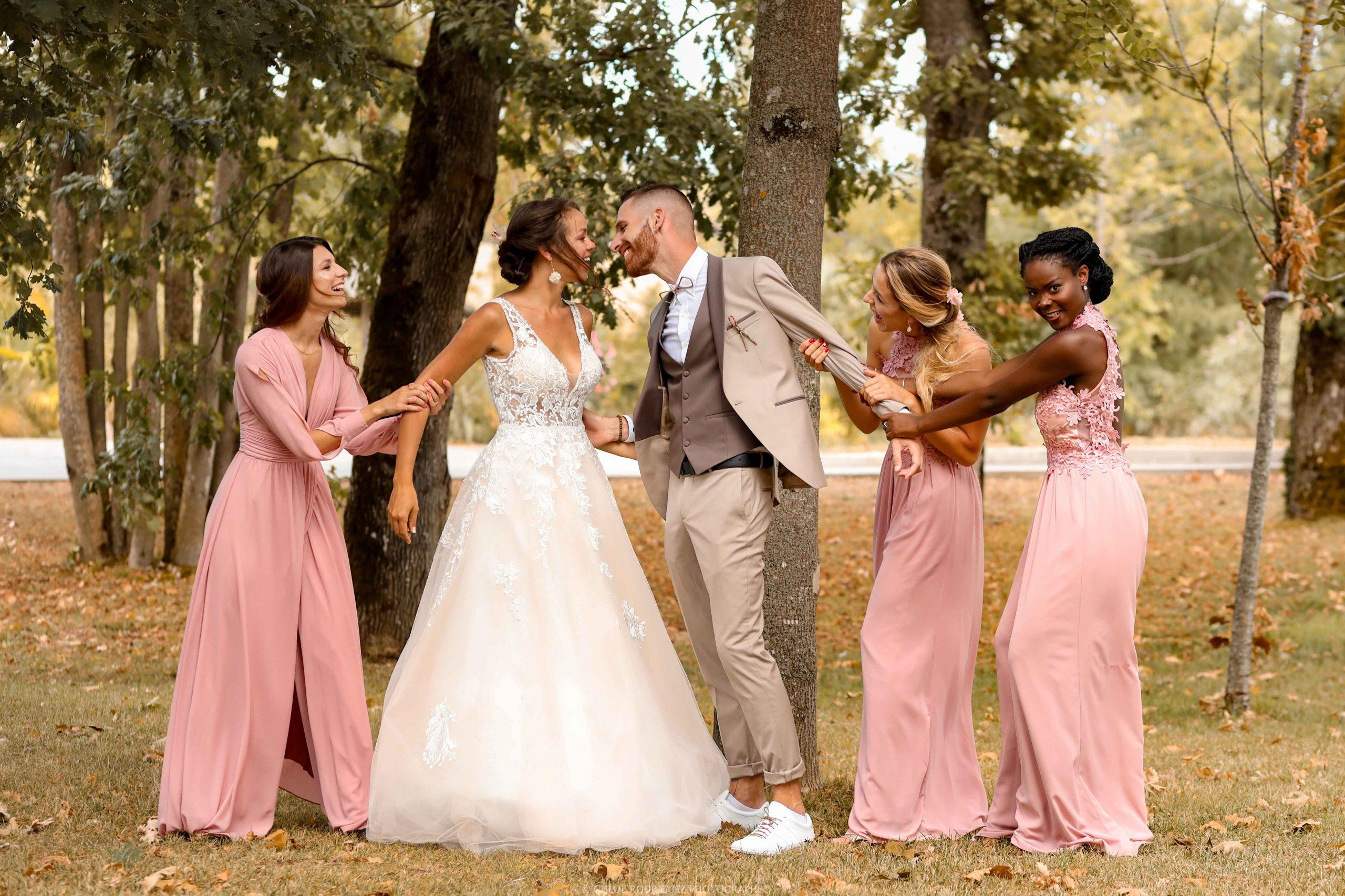photo drole mariage