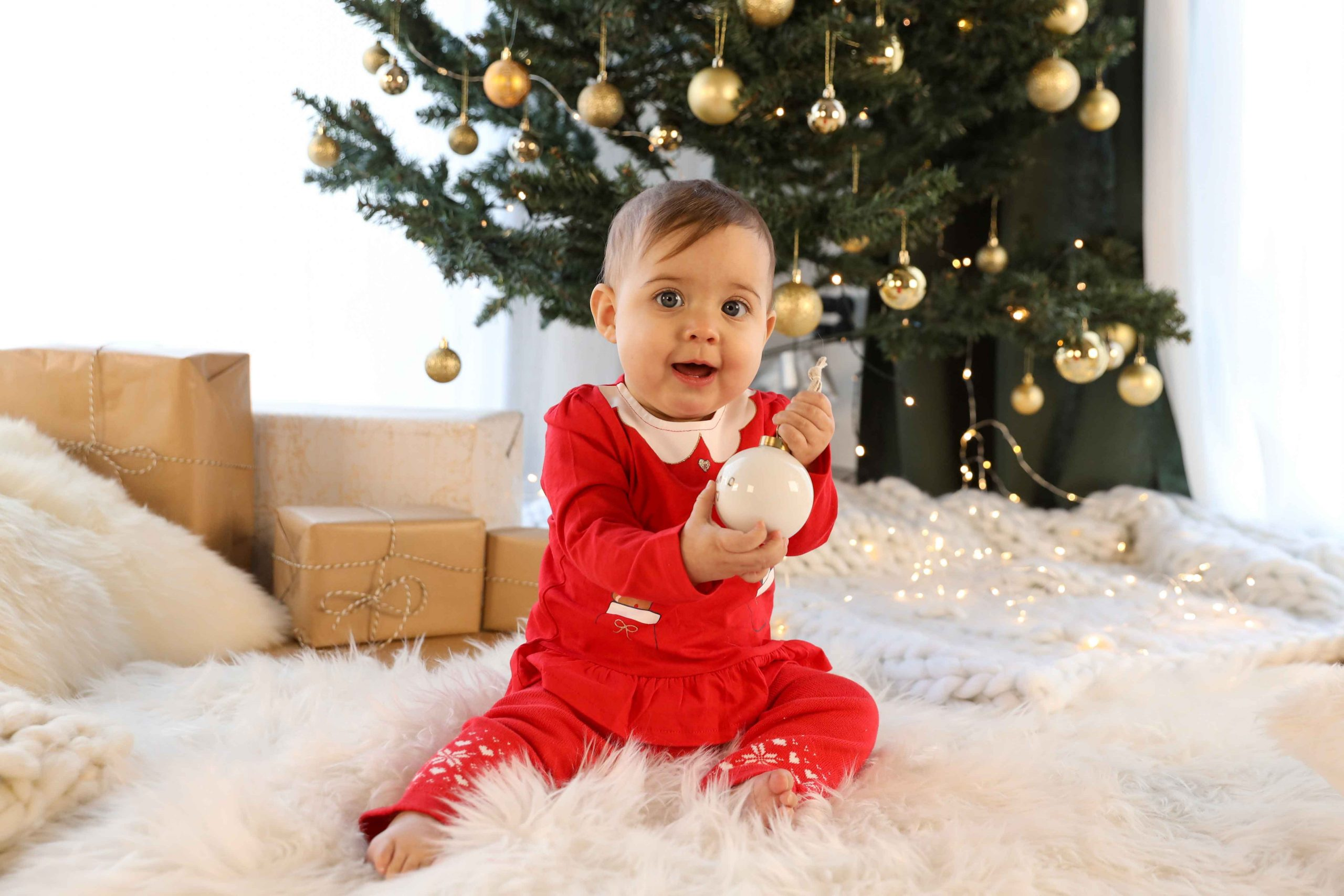 photographe bébé noel