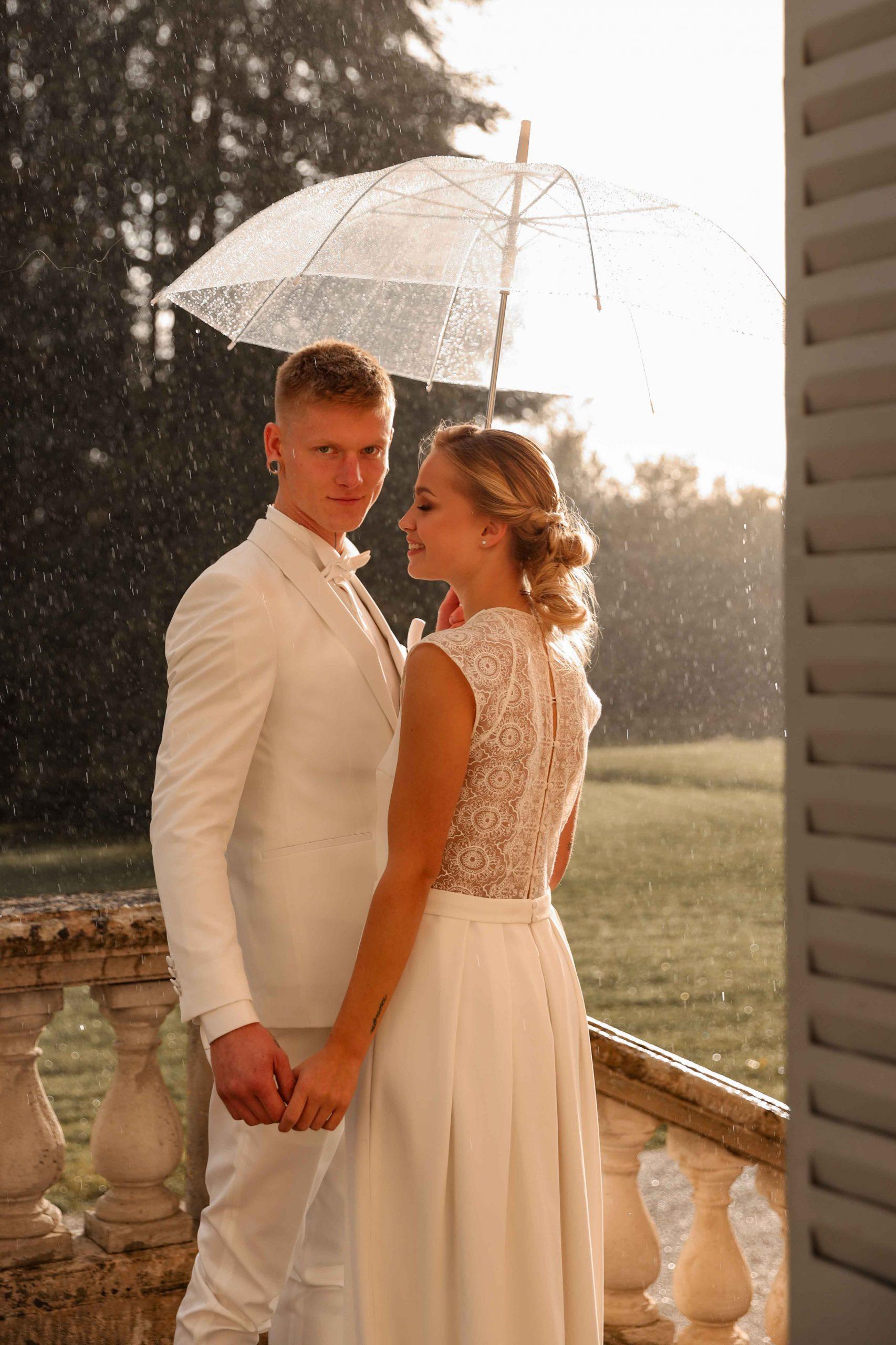 photographe mariage pluie