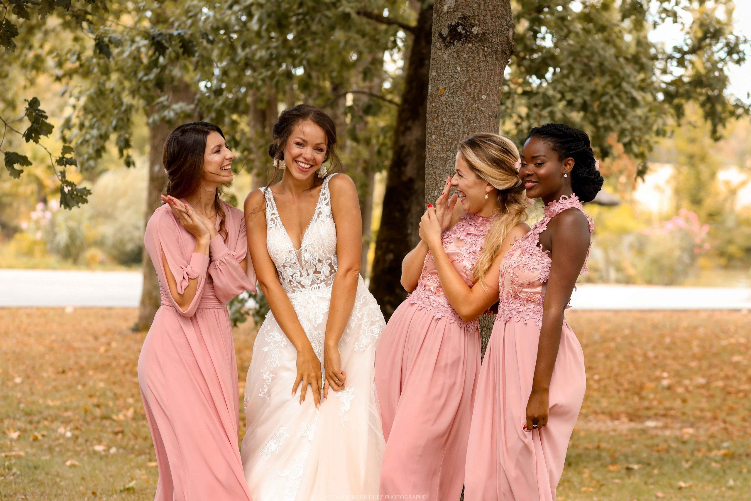 photographe mariages mariée souriante